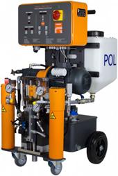 Polüuretaanvahu proportsioneerimise seadmed